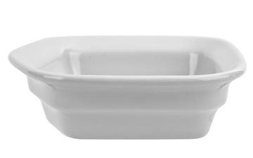 Šalátová misa, päťuholníková keramika