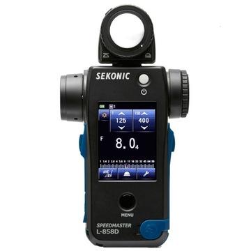 Sekonic L-858D Speedmaster Light Meter Inst.pl