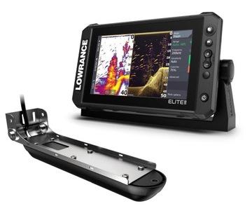 Lowrance GPS Elite 9 FS + prevodník 3 v 1