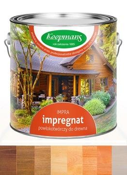Impregnácia dreva Koopmans Impra 2,5 l. Farba