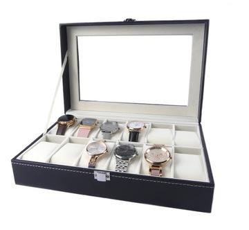 Krabica na kufríky na kufríky na hodinky 12 ks
