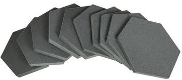 Akustické panely Akustická pena Hexagon 10 ks