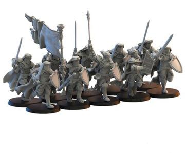 Calix Knights na nohe stratené kráľovstvo - 3D výtlačok