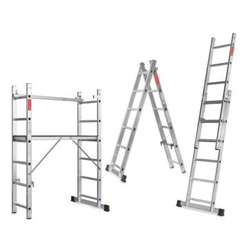 Lešenie, hliníková pracovná plošina 2x6 + ZADARMO