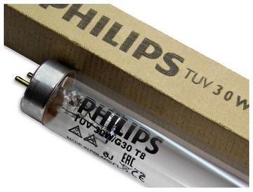 Žiarivkový trubicový žiarič PHILIPS TUV 30W UV-C G30 T8