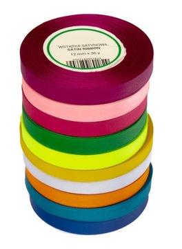 Ribbon saténová páska 12mm 32m 10ks