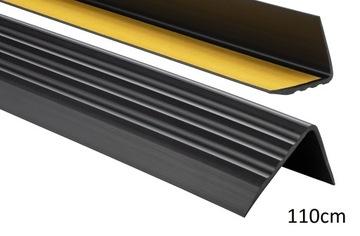 Protišmykový schodiskový profil 50x40 PREMIUM 1,10m