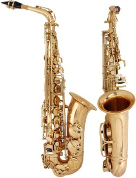 Alto Saxofón ES, EB FIS Concert M-Tunes - Golden