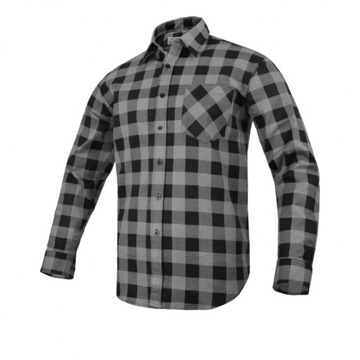 Flannel Shirt Modar Grey Grey