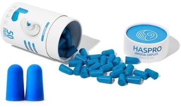 Haspro Tube 50par 100ks ušné zástrčky.