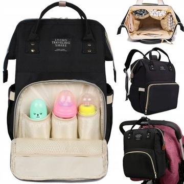 Taška, batoh, vozík, organizér pre mamičku a otca 3v1