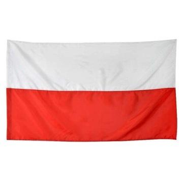 Národná vlajka Poľska 68 x 110 cm Euro Fan