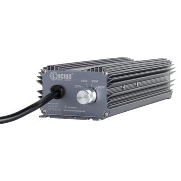 Elektronické napájanie pre žiarovky HPS MH LUCIUS 600W