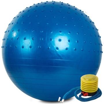 Fitness 65cm gymnastic Ball. Cvičenie Čerpadlo