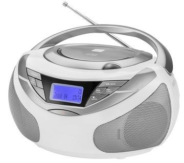 Boombox CD MP3 USB AUX v digitálnom rádiovom DAB + FM