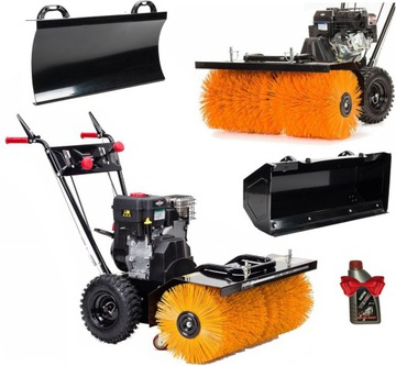 NAC COMBUSTION Sweeper 6,5 km BRIGGS DRIVE + KIT