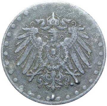 + 10 Pfennig 1917 Zinok - Eagle s guľkami - Zriedkavé