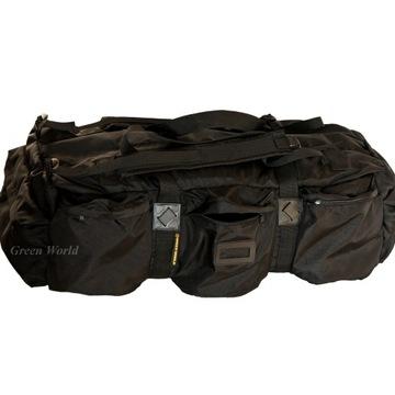 Backpack misionársky taška Cordura Czarna