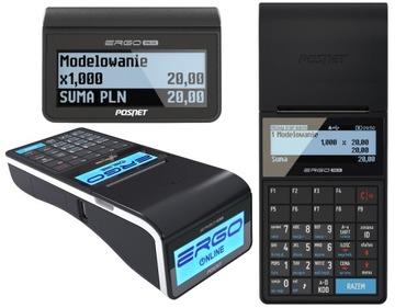 Fiškálna pokladnica Ergo Online USB