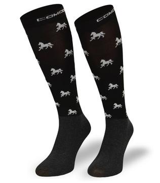 Pohodlné detské ponožky pre koňský kôň