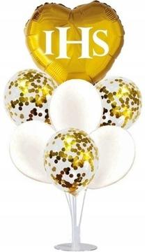 Communion Balloons + Srdce + Stojan Decor Communion S5