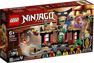 Lego Ninjago Resin Tournament 71735