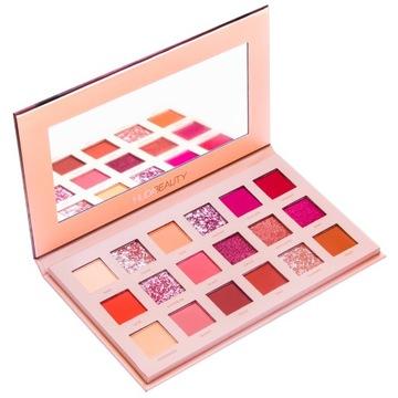 Tieňová paleta 18 farieb očné make-up tiene