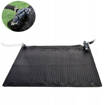 Vykurovacia solárna rohožka pre ohrievač vody v bazéne