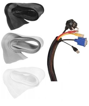 Kábel Organizátor Zapojenie Maska 1.8m Farby