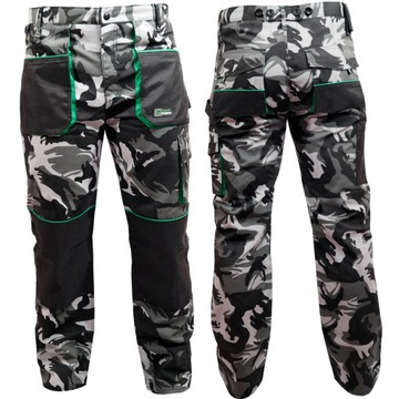 Pracovné nohavice MORO CAMO COLONEL ROZ. M