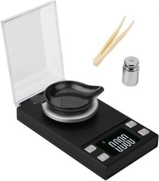 Elektronická hmotnosť šperkov 20g / 0,001g prenosná