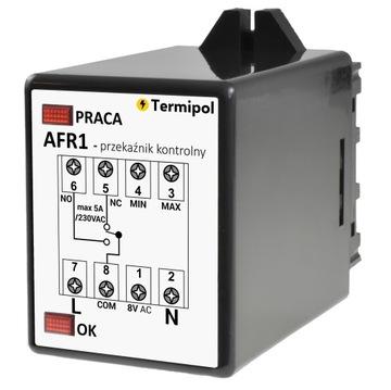 AFR1 Relé kontrolu kvapaliny pre údržbu