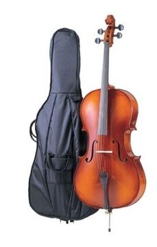 Carlo Giordano SC-90W 4/4 Cello s krytom