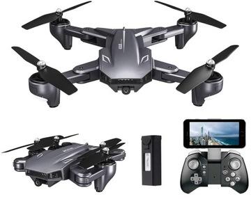 Dron Visuo XS816 Kamera 4K UHD WIFI FPV BIG AKUM.