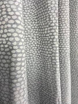 Curtain Material Grey vzor 35x150cm tipy
