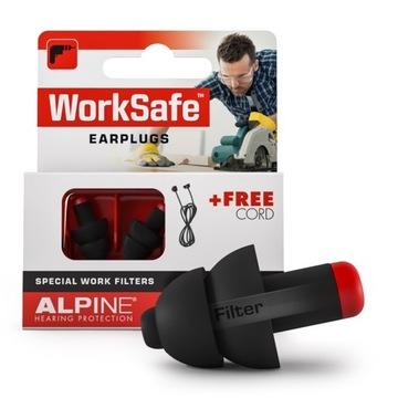 Zastavenia, ušné zástrčky ALPINE WEAKTRYFE PRE PRÁCU