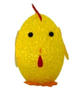 Vajce vajcia LED kuracie veľkonočné žlté kuriatko