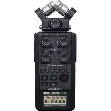 Zoom H6 Black - Digitálny rekordér