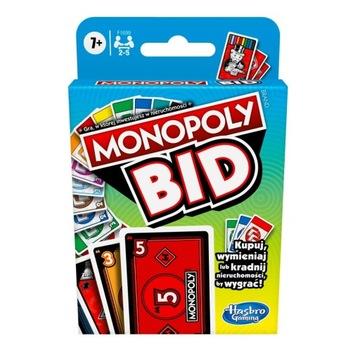 Hasbro hra Monopoly Bid verzia Poľsko F1699