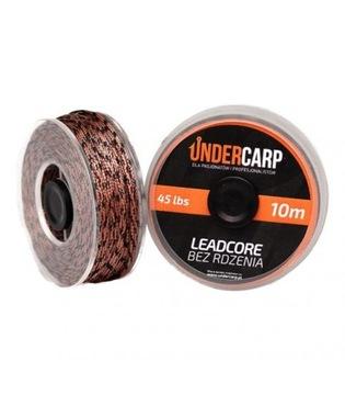 Leadercore bez jadra 10 m / 45 lbs - hnedá - pod