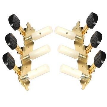 Kľúče pre klasickú gitaru Jeremi Gold Plated Comver