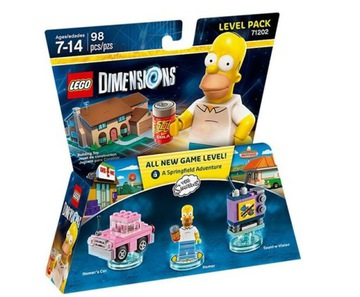 LEGO Dimensions 71202 Level Pack Simpsons Homer