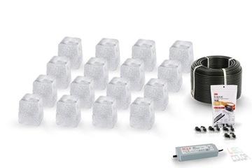16x dlažobné neutrálne LED svietidlo Piccola