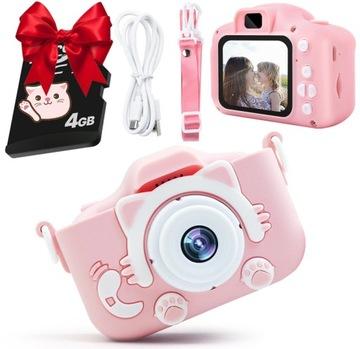 Digitálny fotoaparát pre deti 2 Selfie Camera + 3 hry