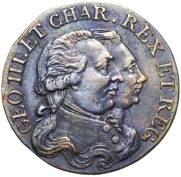 + Spojené kráľovstvo Jerzy II Zdvihňovač Farthing 1790