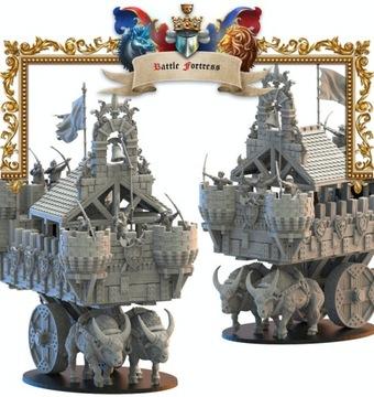 Battle Fortress - stratené kráľovstvo - 3D výtlačok