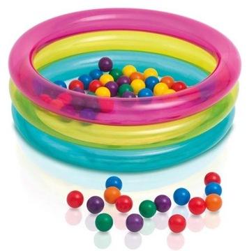Suchý bazén s loptičkami Intex 48674 Balls 50 Balls
