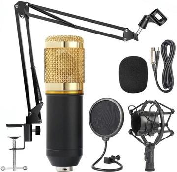 USB kapacitný mikrofón nastavený filter