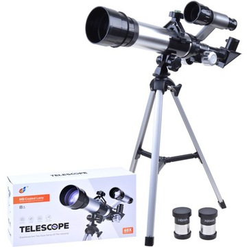 Telescope Optical telescope 2 x okulár, statív ES0017
