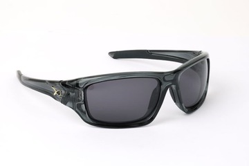 Polarizované slnečné okuliare Matrix Black Wraps / Grey Lense